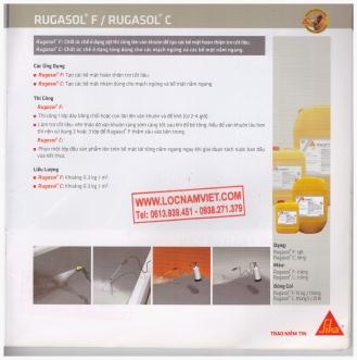 Sika-rugasol F- rugasol C