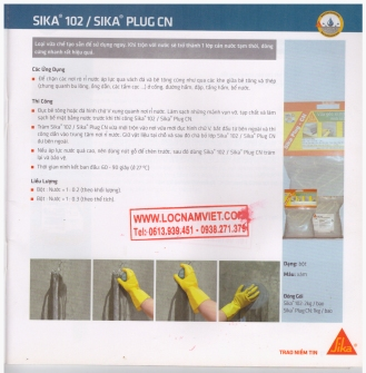 Sika102 Sika plug CN