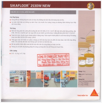 Sikafloor 2530w new