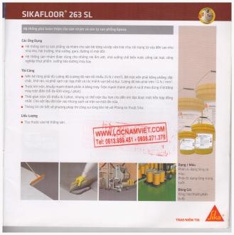 Sikafloor 263 sl