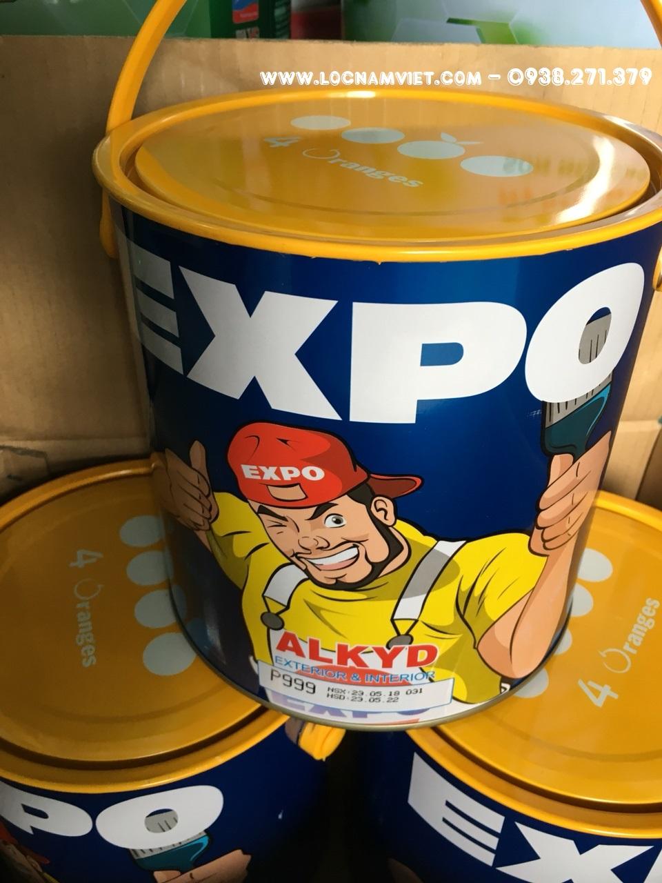 SON DAU EXPO MAU DEN P 999 3KG (2)