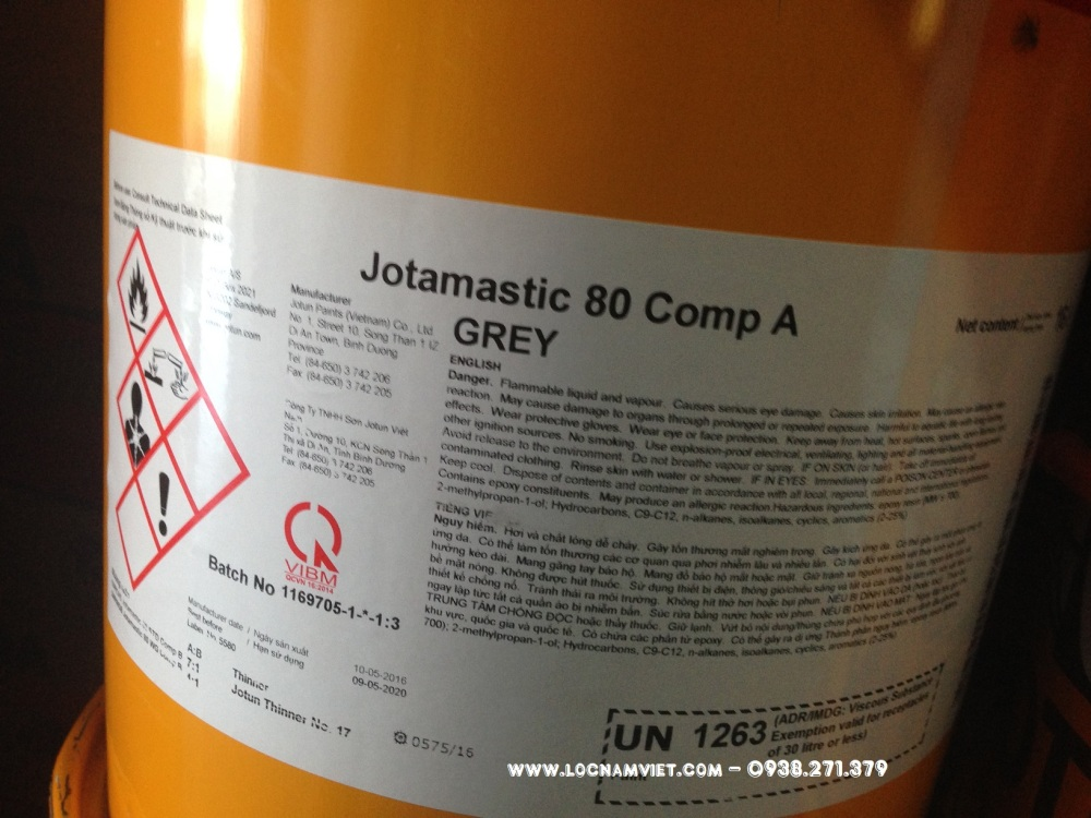 SON JOTUN JOTAMASTIC 80 20L- (1)