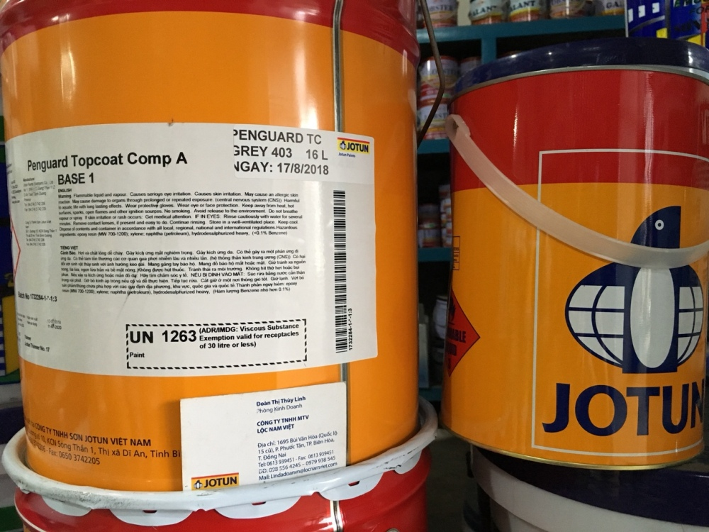 Sơn Epoxy Jotun penguard Topcoat Grey 403 20L (3)
