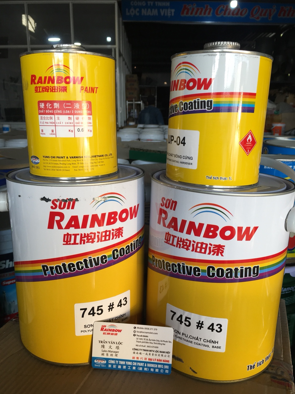 SON RAINBOW PU 745 # 43 (7)
