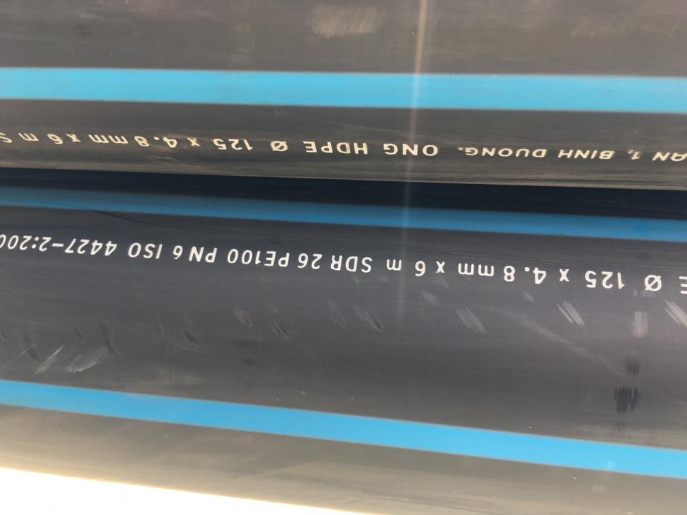 ONG HDPE 125 X 4,8MM PN6 (7)
