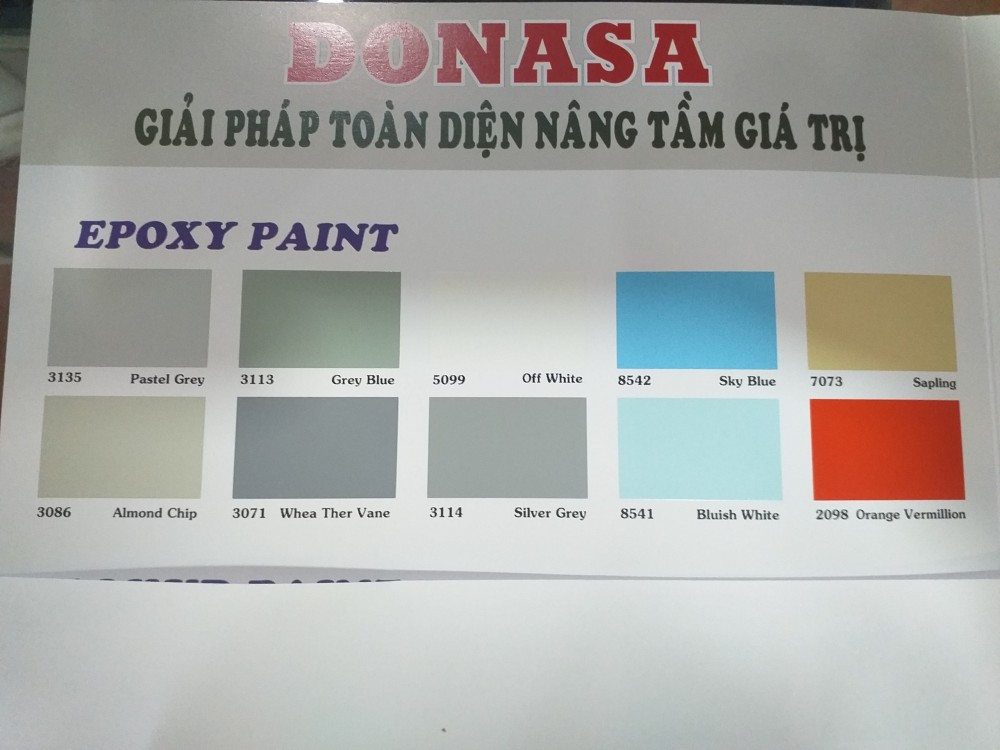Bang mau son Epoxy Donasa (2)